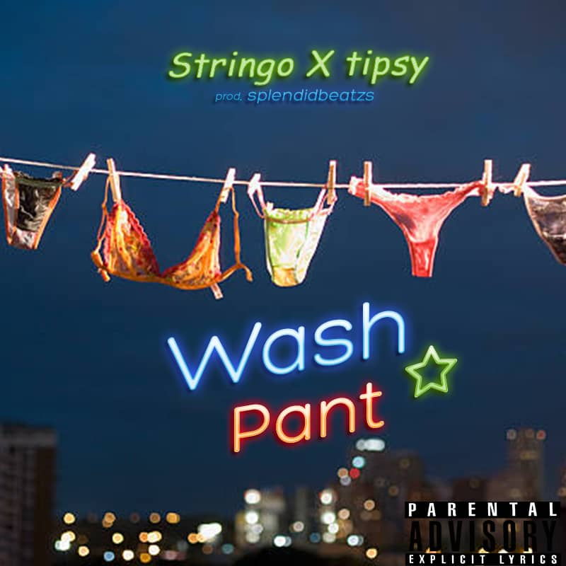 Stringo X Tipsy - Wash Pant